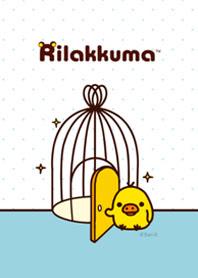 สติ๊กเกอร์ไลน์ชุด Rilakkuma ธีม Kiiroitori