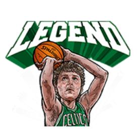 สติ๊กเกอร์ไลน์ชุด นักบาส NBA  ในตำนาน