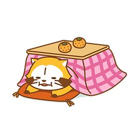 สติ๊กเกอร์ไลน์ชุด WINTER☆RASCAL
