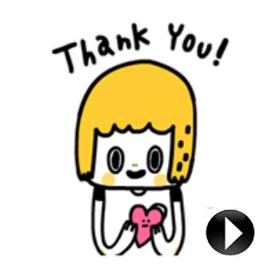 สติ๊กเกอร์ไลน์ชุด Morita Cute 100%